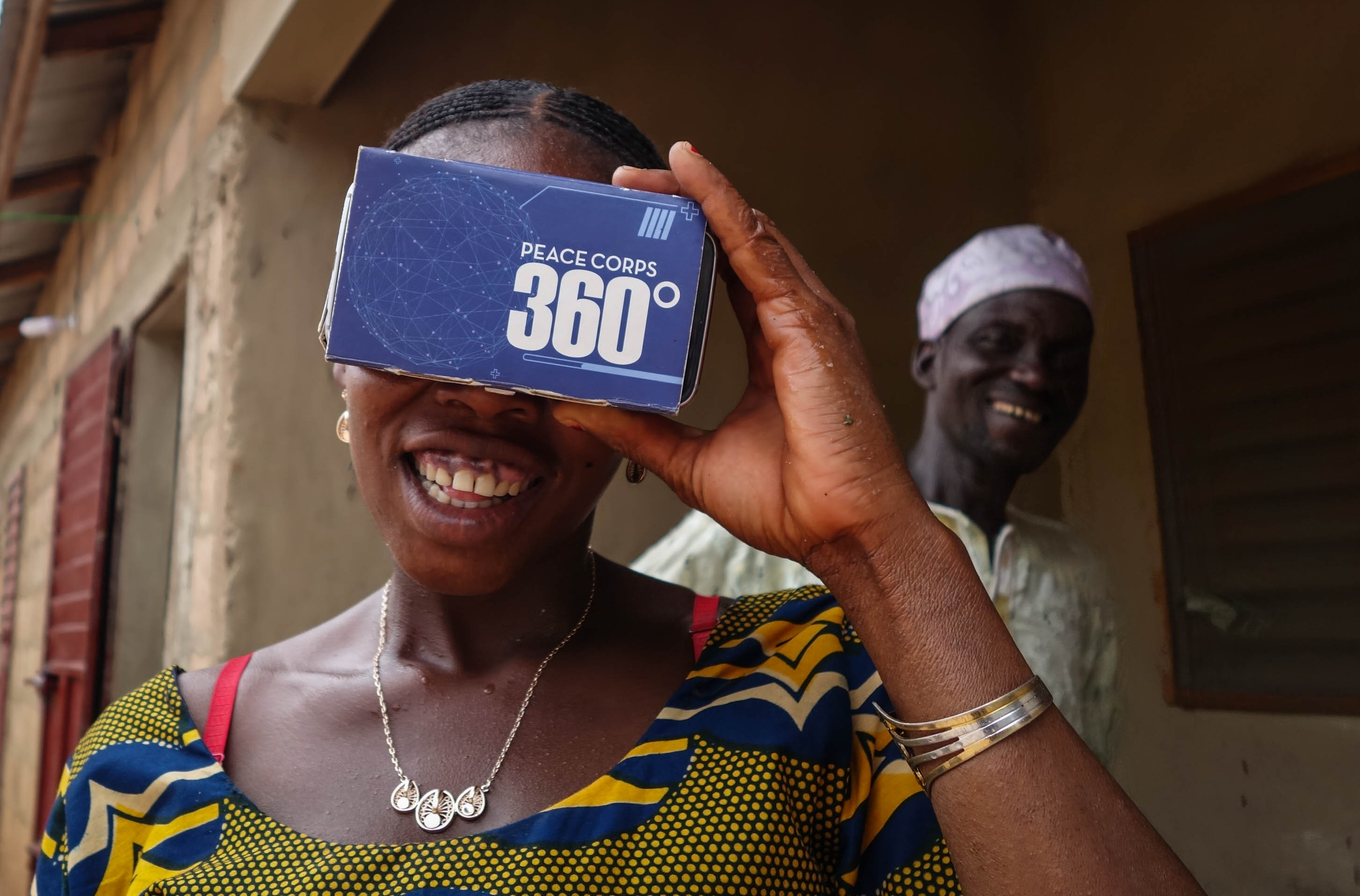 Peace Corps 360° virtual reality, Jake Meyers, Peace Corps Benin
